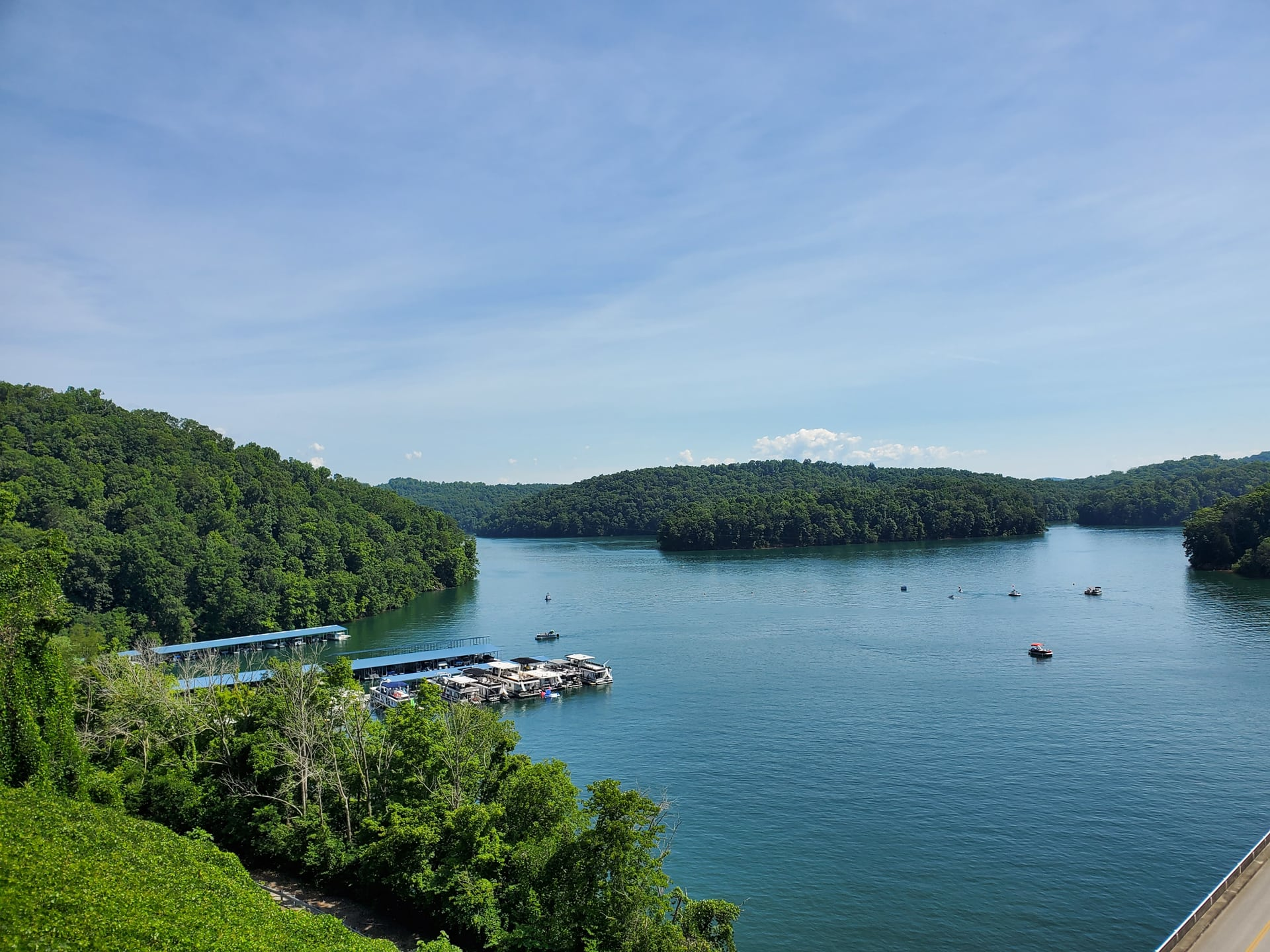 Norris lake and dam